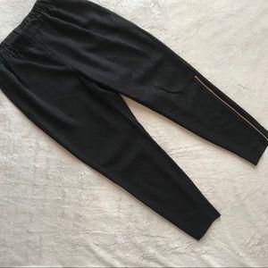 Everlane E2 Japanese GoWeave Zip Track Pant Black
